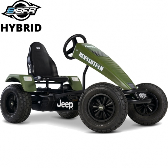 Berg Gokart Jeep Revolution E-BFR